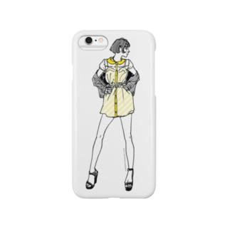 """Yellow"" いけじょファッショニスタ Smartphone cases"