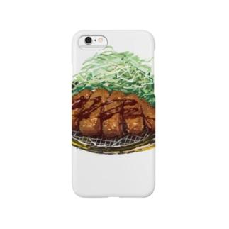 TONKATSU ~sauce 文字なしver. Smartphone cases