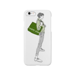 """Green"" いけめんファッショニスタ Smartphone cases"
