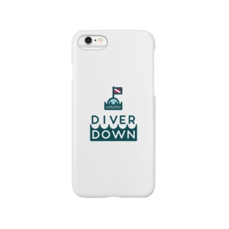 Diver Downグッズ Smartphone cases