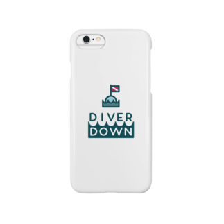 Diver Down公式ショップのDiver Downグッズ Smartphone cases