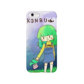こんぶとおさんぽケース Smartphone cases