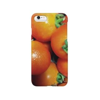 激甘トマトのスマホケース Smartphone cases