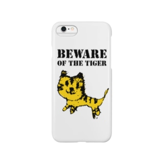 BEWARE OF THE TIGER Smartphone cases