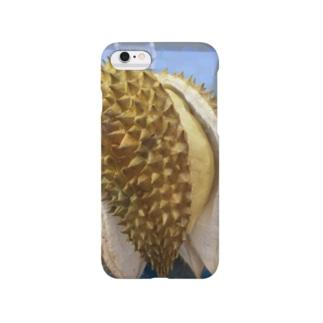 あ〜食べたいドリアン Smartphone cases