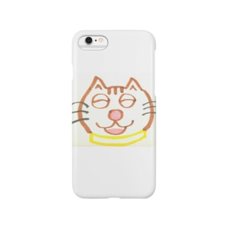山本マロン(茶トラの猫) Smartphone cases
