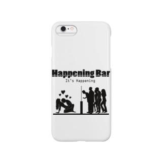 HAPPENING BAR シルエット Smartphone cases