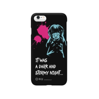 怖話-Girlイラスト4(iPhone6 Case Black) Smartphone cases