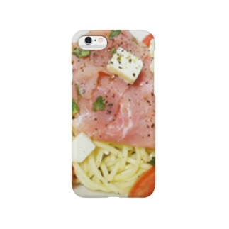 生ハムパスタケース Smartphone cases