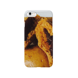 lucky wonder worldの黒糖饅頭 Smartphone cases