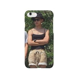 場所取りの守護神アテラちゃん Smartphone cases