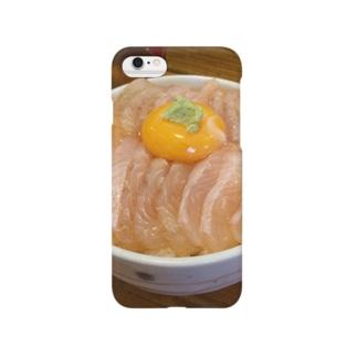 青森で食べた平目丼 Smartphone cases