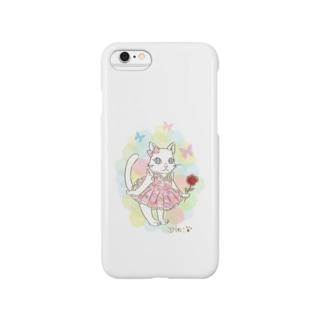 ぷりねこ Smartphone cases