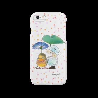hagiiwaの★ポー&リルフィー かさ Smartphone cases