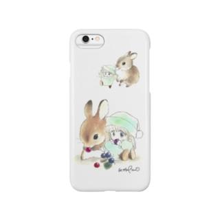 ★うさぎとポー Smartphone cases