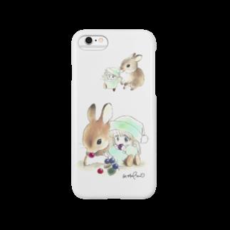 hagiiwaの★うさぎとポー Smartphone cases
