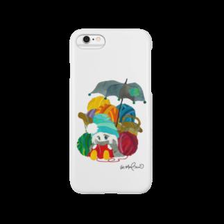 hagiiwaの★ポー 毛糸玉 Smartphone cases