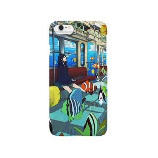 うお屋の海中電車 Smartphone Case