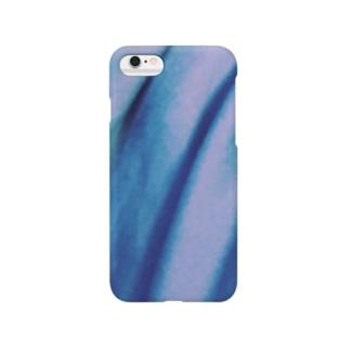 青いモノノ怪 Smartphone cases