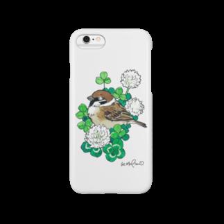 hagiiwaの★すずめ Smartphone cases