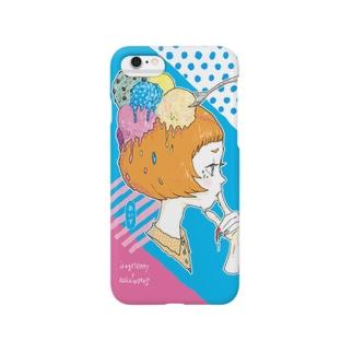 あいす Smartphone cases