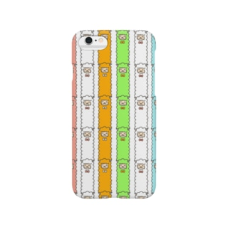 アルパカストライプ Smartphone cases