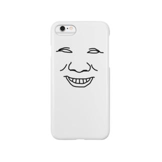 俺の顔① Smartphone cases