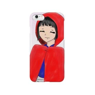 赤ずきんの少女 Smartphone cases
