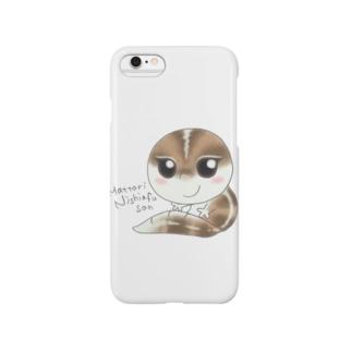 まったりニシアフさん Smartphone cases