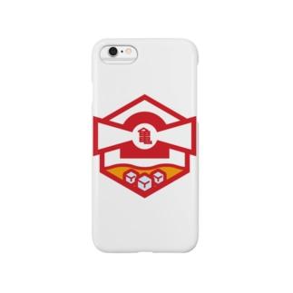 パ紋No.2772 亀 Smartphone cases