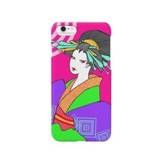 POPおいらん Smartphone cases