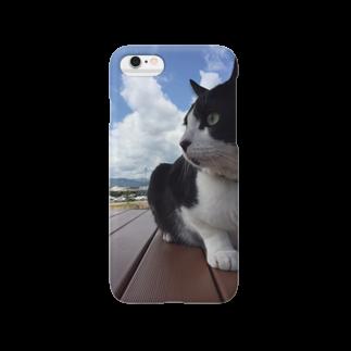 oikの猫のピクニック Smartphone cases
