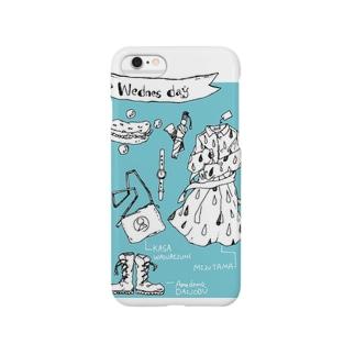 水曜日 Smartphone cases