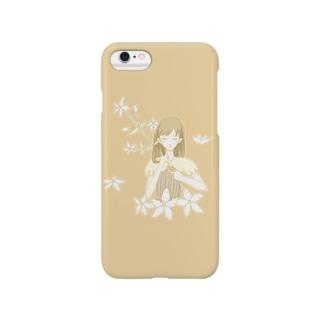 アケボノソウ Smartphone cases