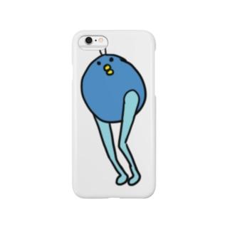 青B-ん Smartphone cases