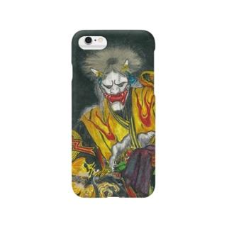 石見神楽 塵輪(じんりん) Smartphone cases