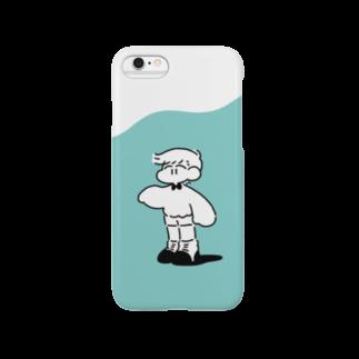 くだものやさんのねぐせくんしんぷるiPhoneケース Smartphone cases