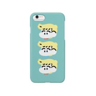 なかよしiPhoneケース(ぶるー) Smartphone cases
