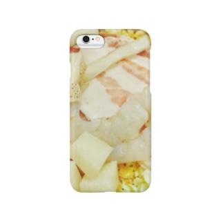 材料(お好み焼き) Smartphone cases