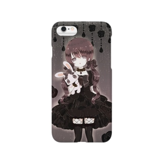 ♥Maiden wearing a black dress♥ Smartphone cases