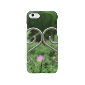可愛い花壇 Smartphone cases