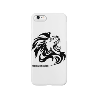 THE KING ROARED Smartphone cases