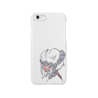 花冠の少女〈海に染まる〉 Smartphone cases