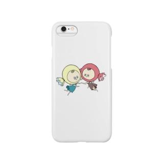 双子キャンディー Smartphone cases