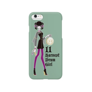 Harvest Drum Girl Smartphone cases