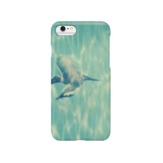 飛ぶペンギン Smartphone cases