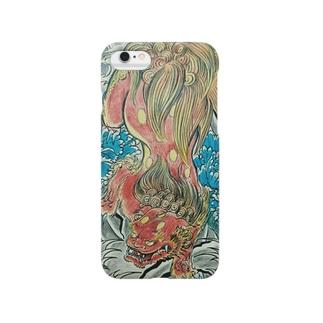 ザ唐獅子 Smartphone cases