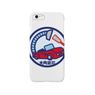 パ紋No.2789 大角 Smartphone cases