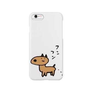 ふんふんしか Smartphone cases