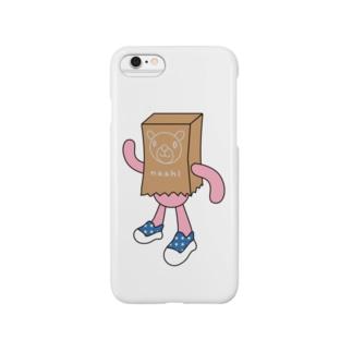 紙くま Smartphone cases